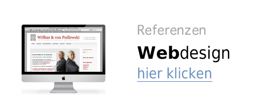 Webdesign Hamburg – Referenzen professionelles Website Design